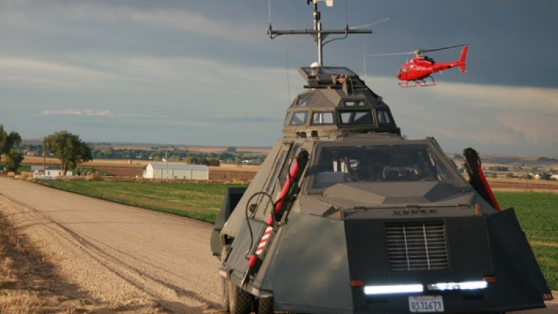 The Tornado Intercept Vehicle, courtesy of Green Screen Films and Graphic Films