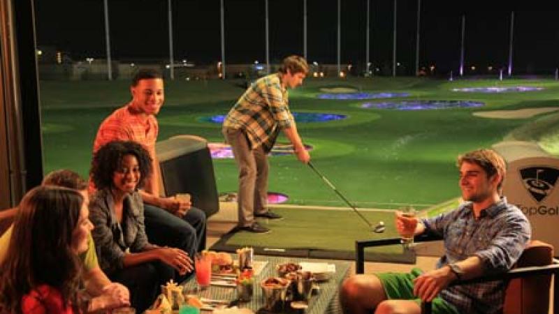 TopGolf will be located at 10900 Westside Parkway.