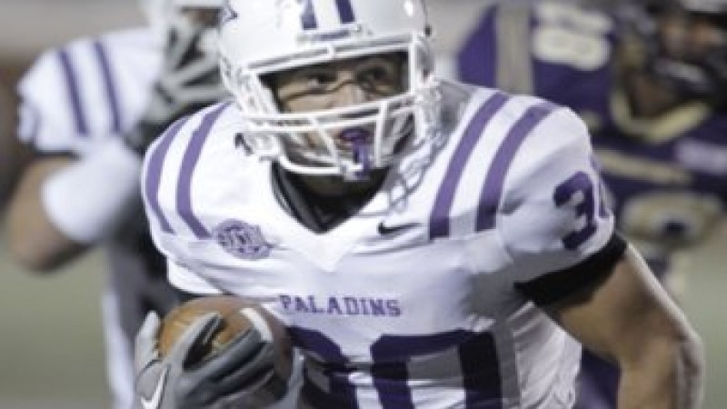 Furman's Jerodis Williams. Photo courtesy Furman University