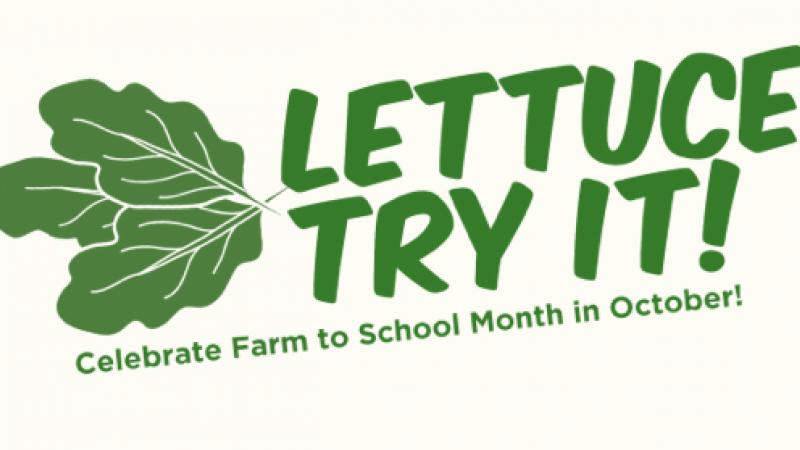 """Lettuce"" eat local in schools."