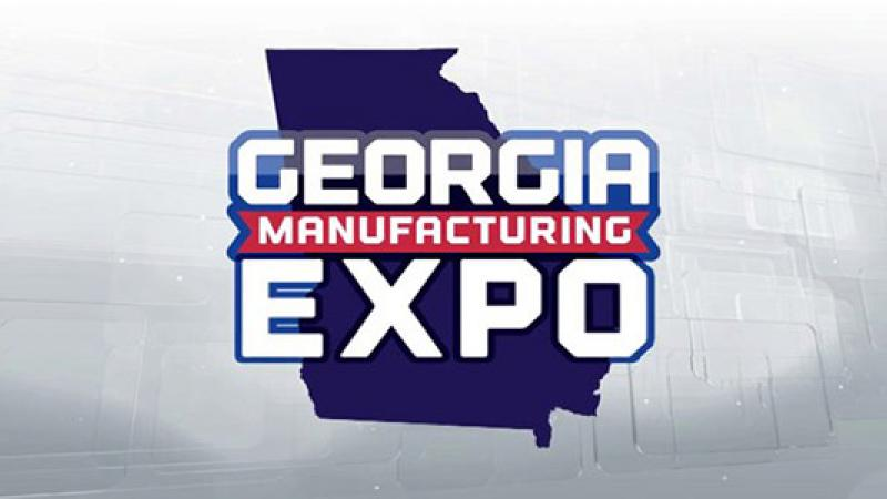 Attend The 2nd Annual Georgia Manufacturing Expo June 13th &14th!