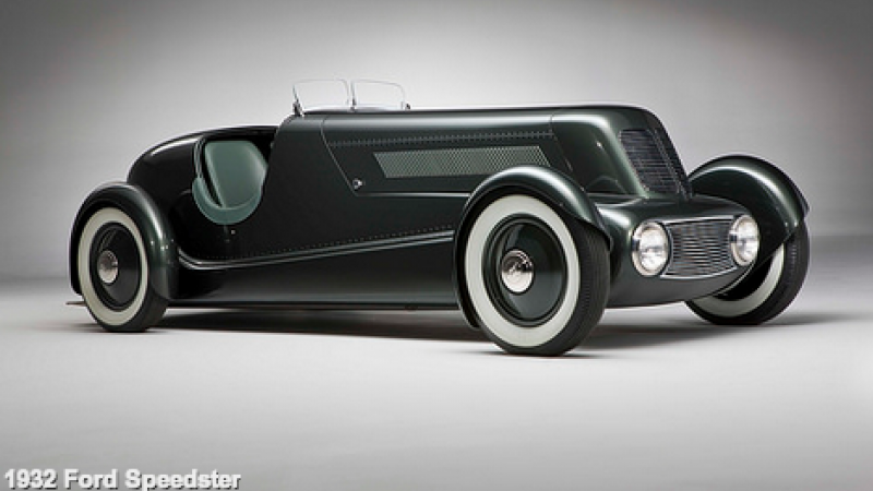 The 1932 Ford Speedster is just one of the models in the Dream Cars exhibit.