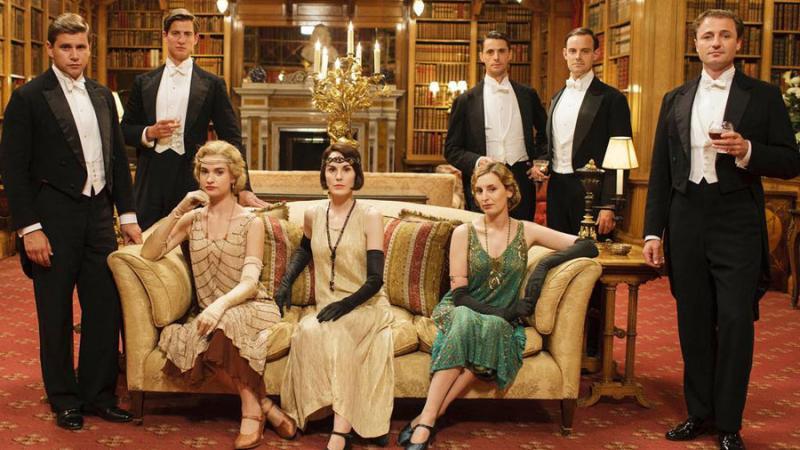 catch the premiere of downton abbey season 6 georgia public