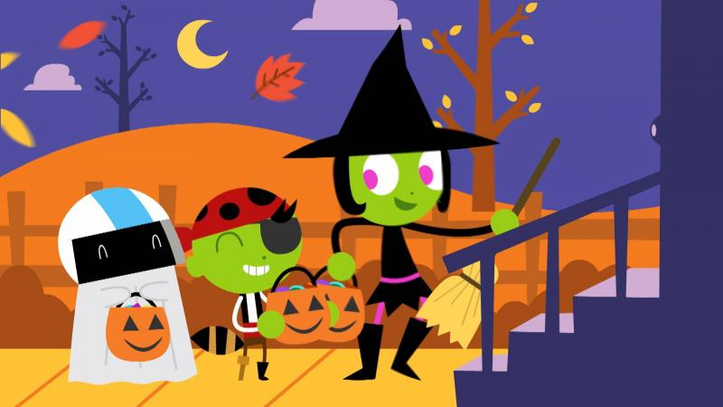 this odd tober gpb and pbs kids invite the entire family to celebrate halloween all month long with spooky new episodes of their favorite shows