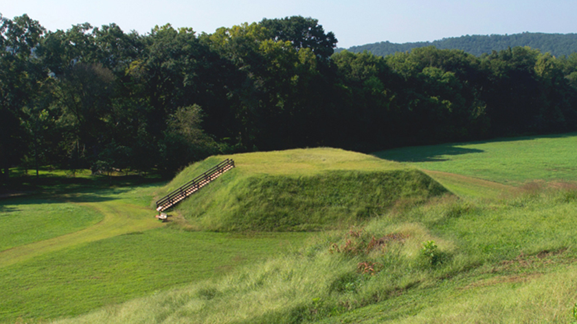 Image of Indian mounds